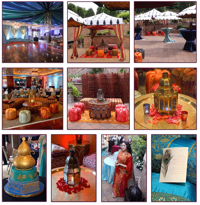 Arabian Nights Sweet 16 Party