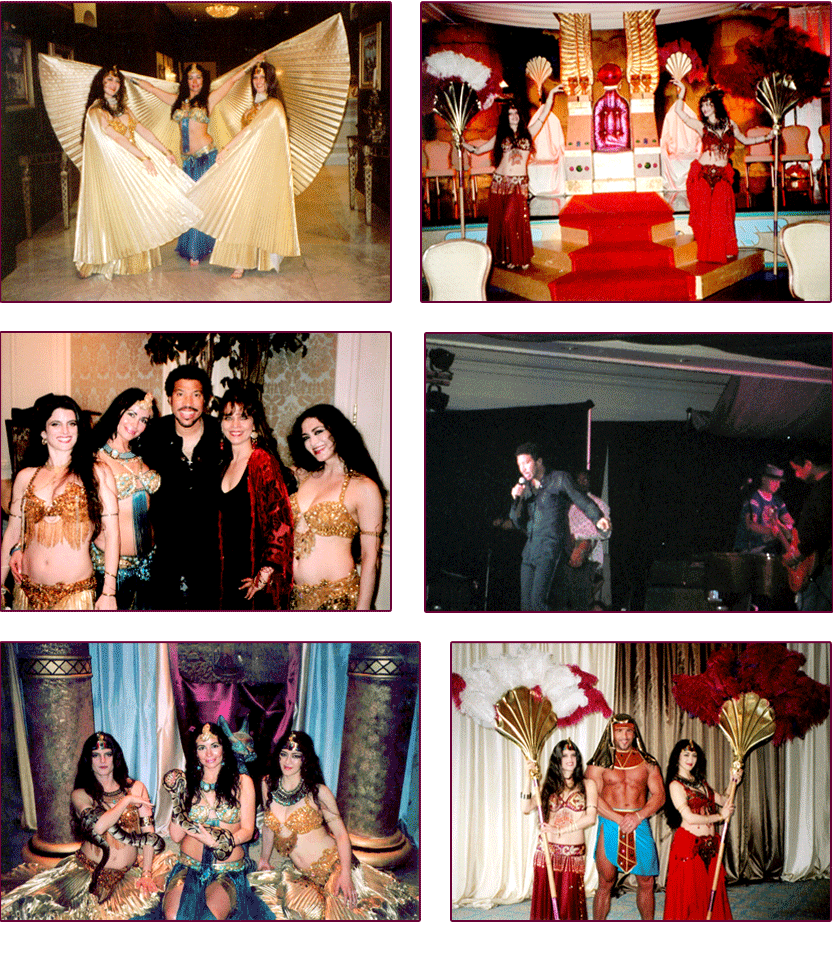 Ancient Egyptian Themed Party, Nemacolin Woodlands Resort