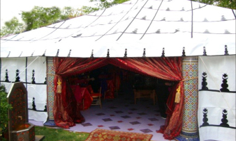 moroccan tent & Moroccan Decorations Tents Lanterns Seating Themed Party Decor