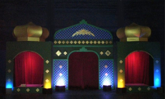Moroccan Decorations Tents Lanterns Seating Themed Party Decor