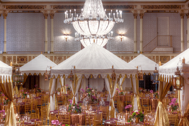 3Vanessa Williams Wedding Tents